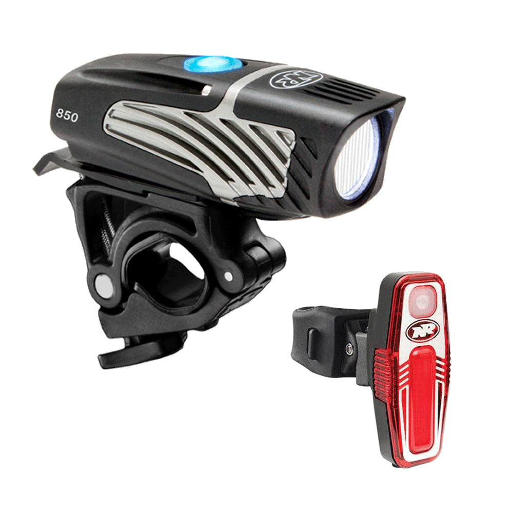 NITERIDER Lumina Micro 850 / Sabre 80 Bike Light Set