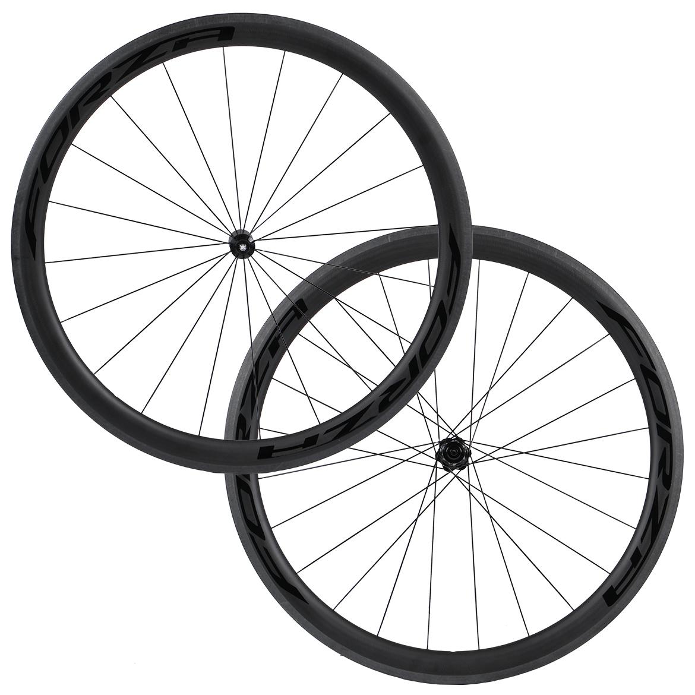 Forza Cirrus Pro R45 Carbon Clincher Road Wheelset