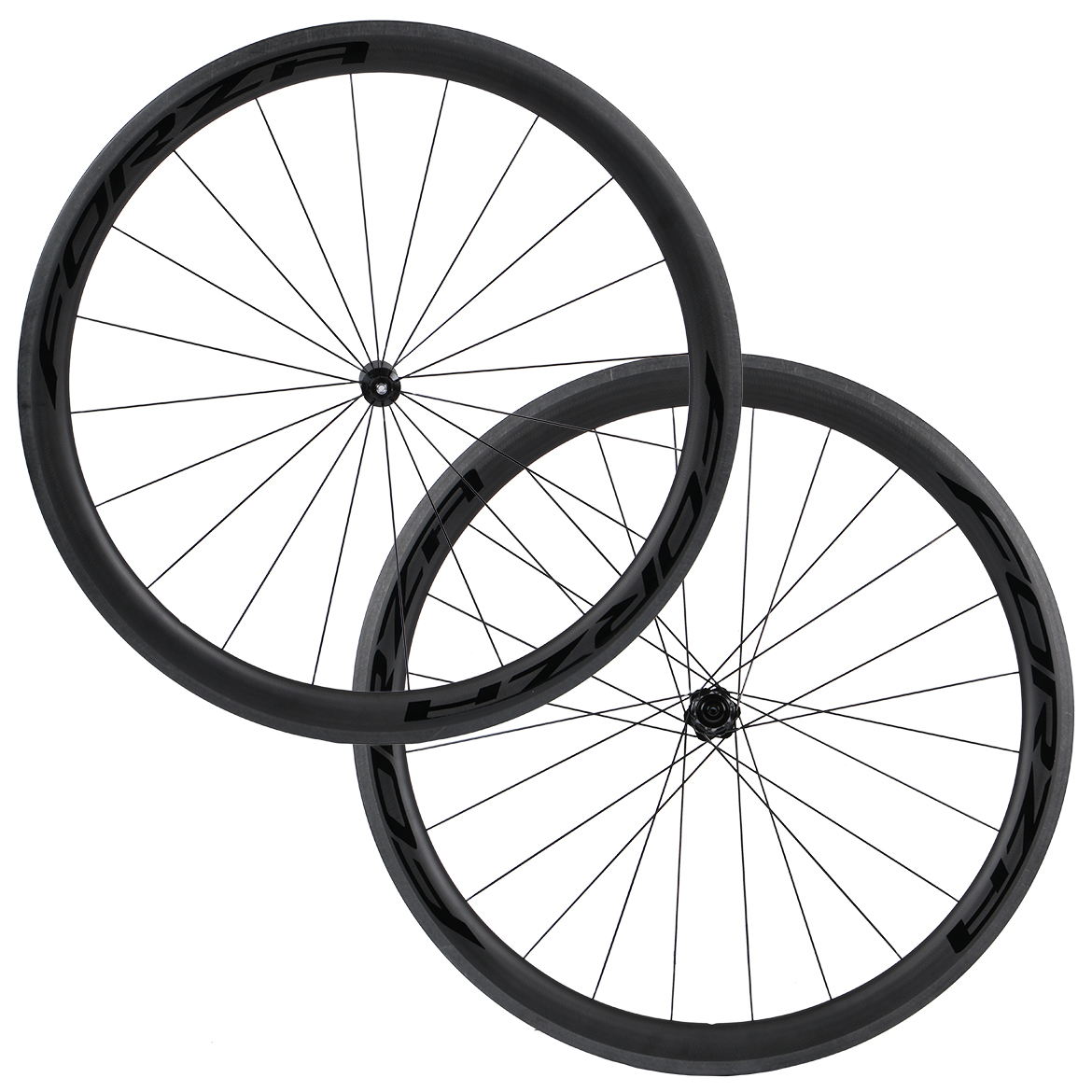 Forza Cirrus Pro R45 Carbon Clincher Disc Road Wheelset