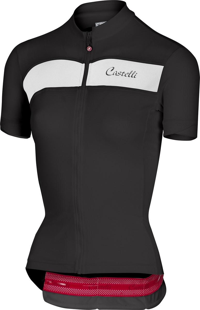 Castelli Scheggia FZ Womens Short Sleeve Cycling Jersey