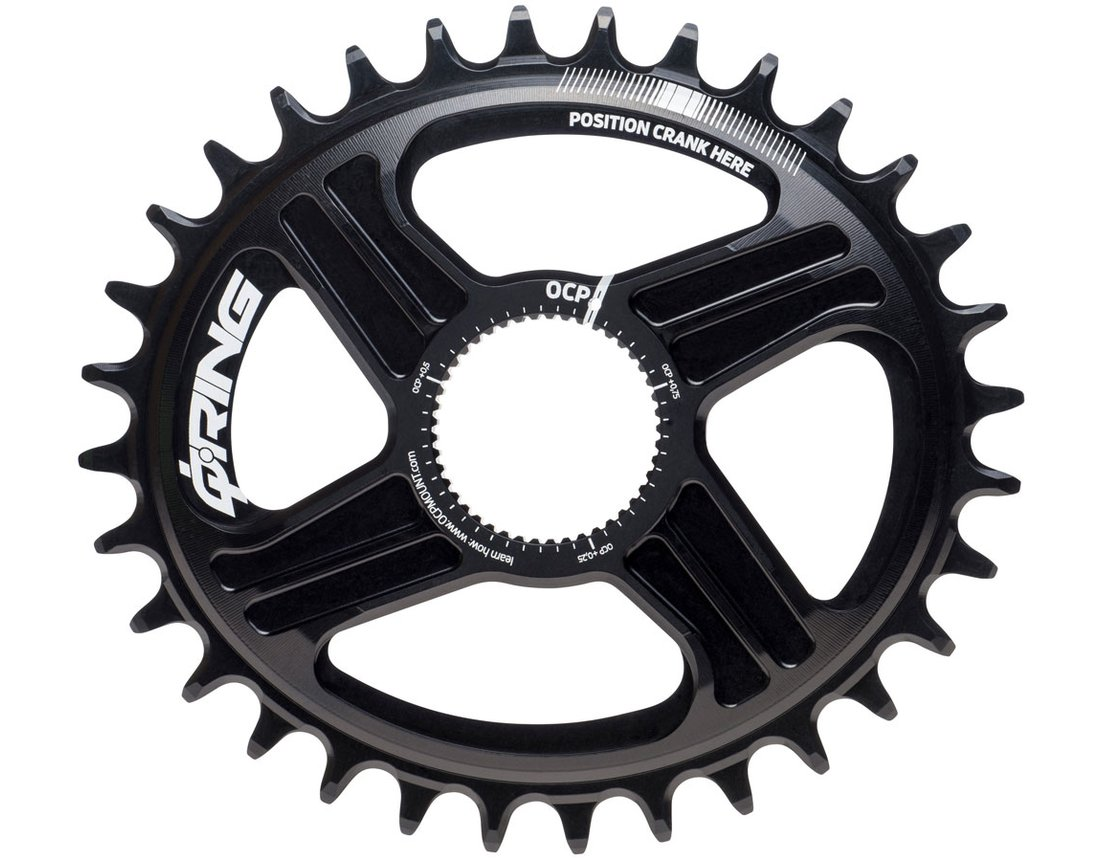 Rotor Q-Ring Narrow Wide Direct Mount Chainring