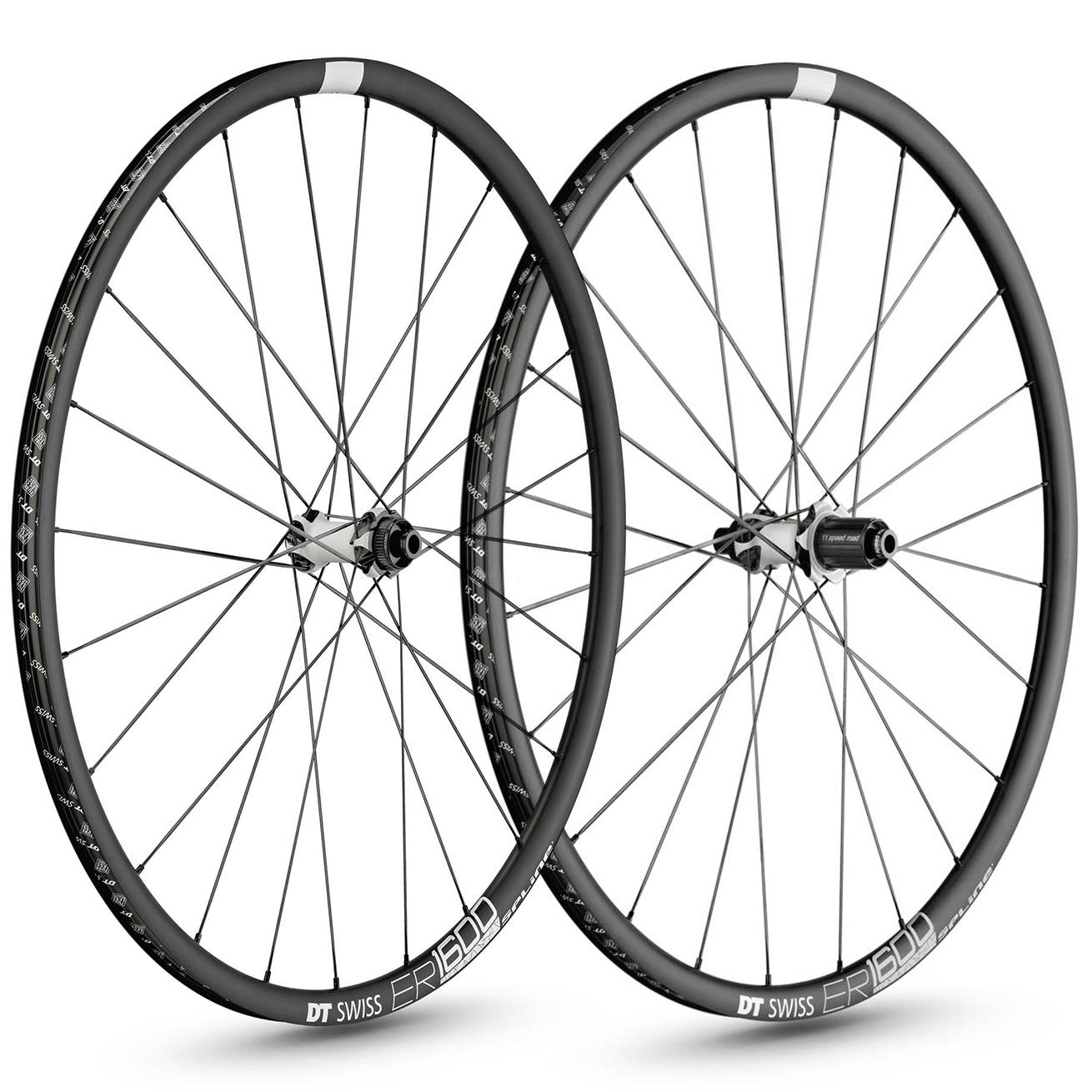 DT Swiss ER 1600 Spline 23 Disc Road Wheelset - 700c