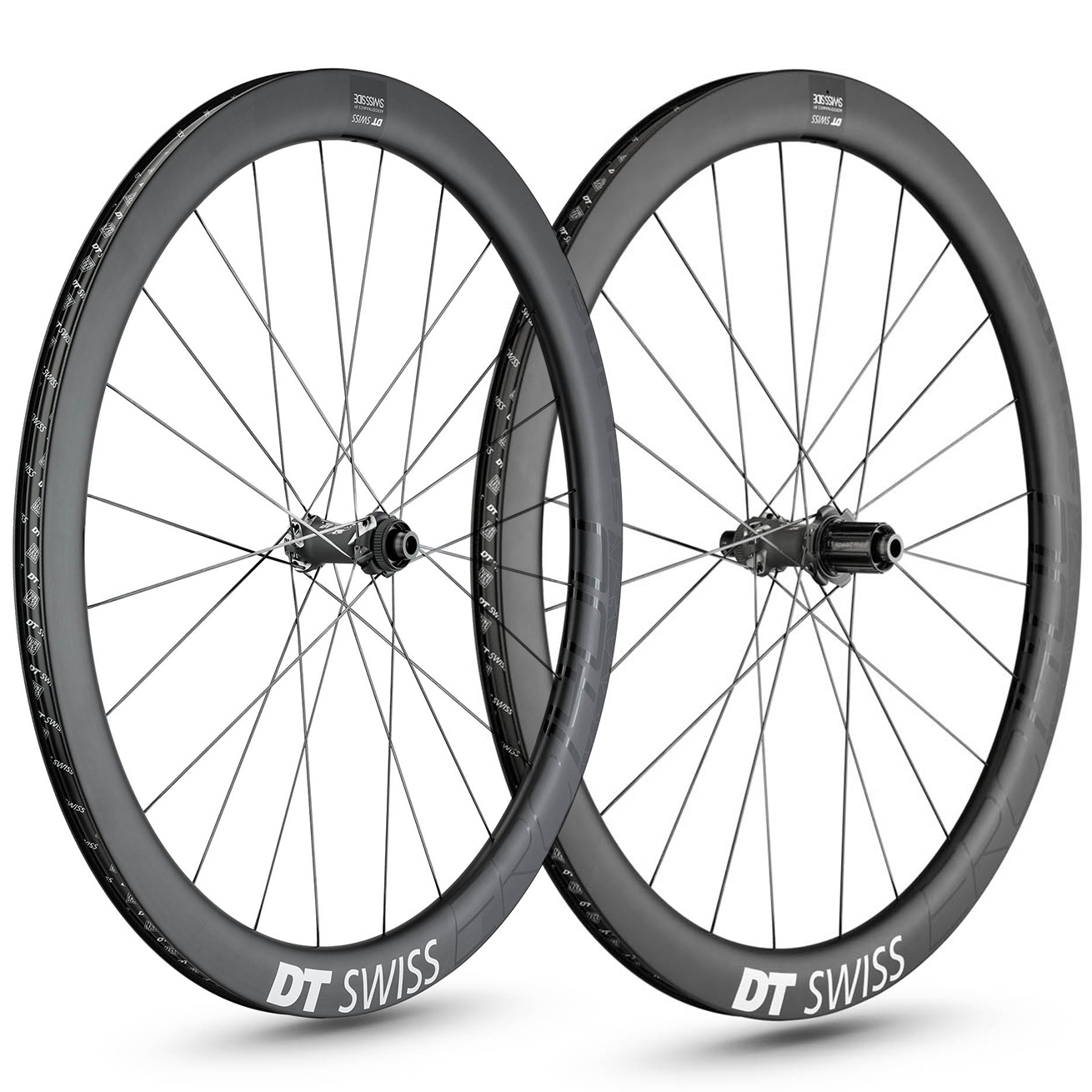 DT Swiss ERC 1400 Spline 47 Disc Road Wheelset - 700c