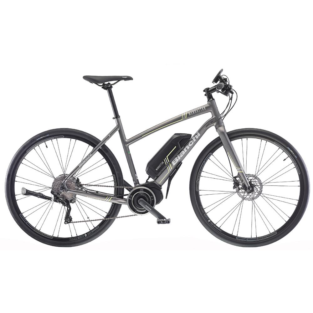 Bianchi Manhattan XT Unisex E-Bike 2018