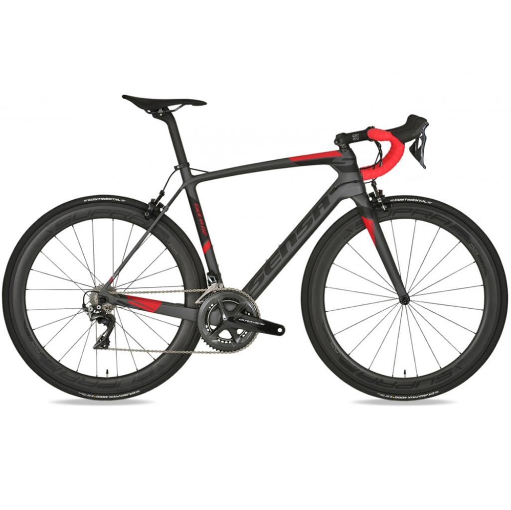 Sensa Giulia G2 Carbon Road Bike – 2018 (Graphite & Red)