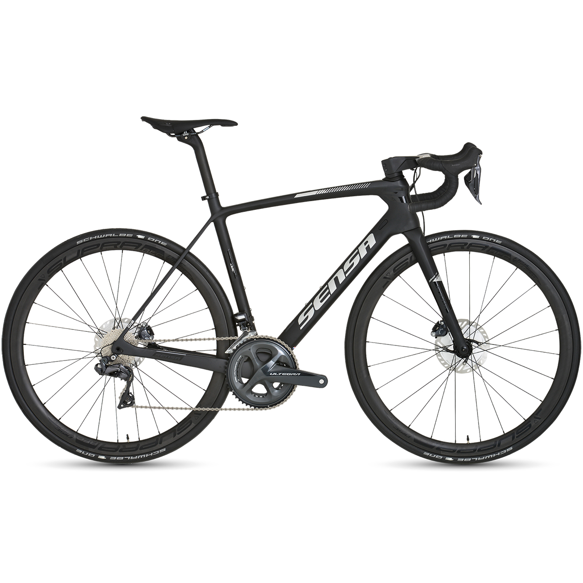 Sensa Giulia G3 Disc Stealth Ultegra Road Bike - 2019