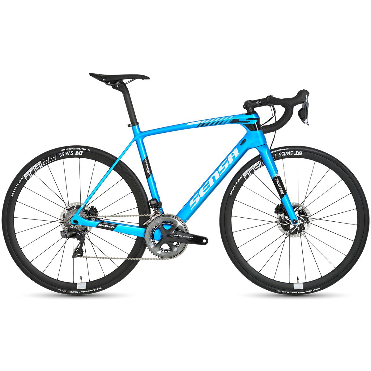 Sensa Giulia G3 Disc Ocean Ultegra Di2 Road Bike - 2019