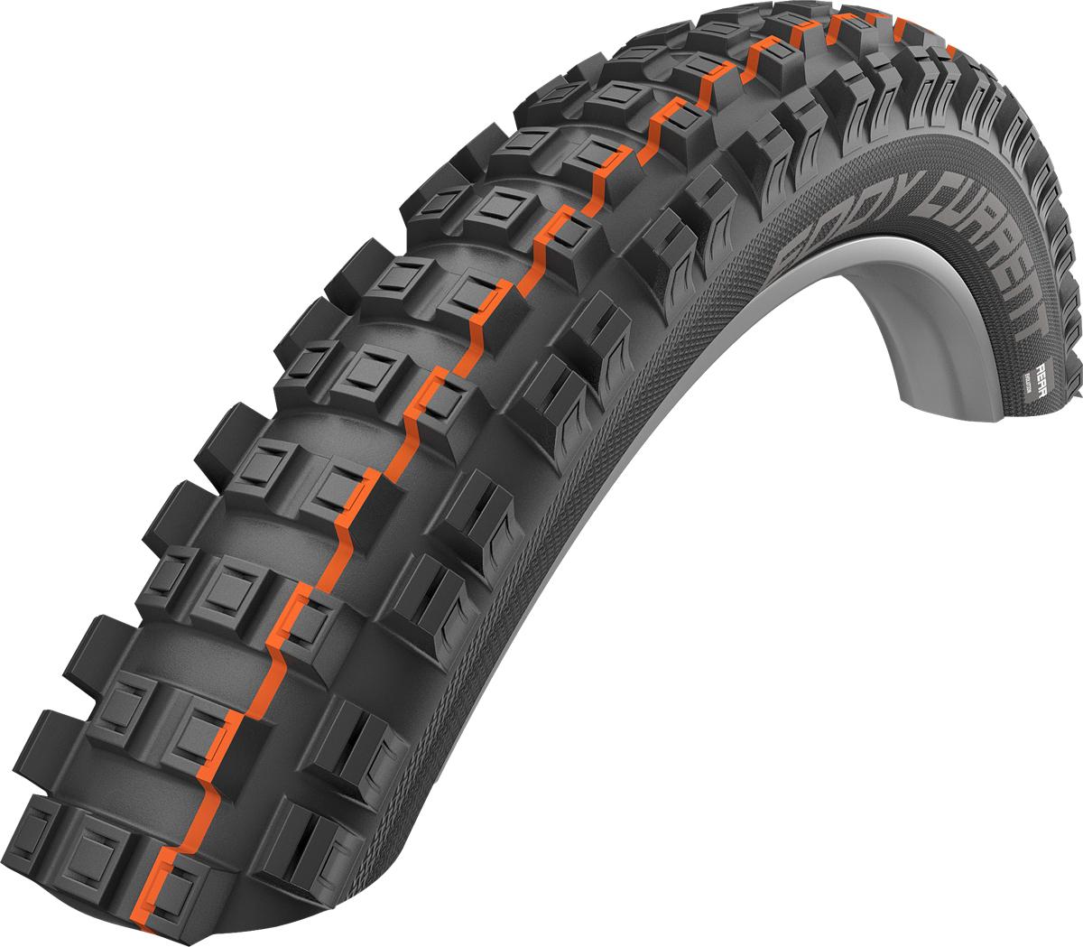 "Schwalbe Eddy Current Super Gravity Rear Folding E-MTB Tyre - 27.5"""
