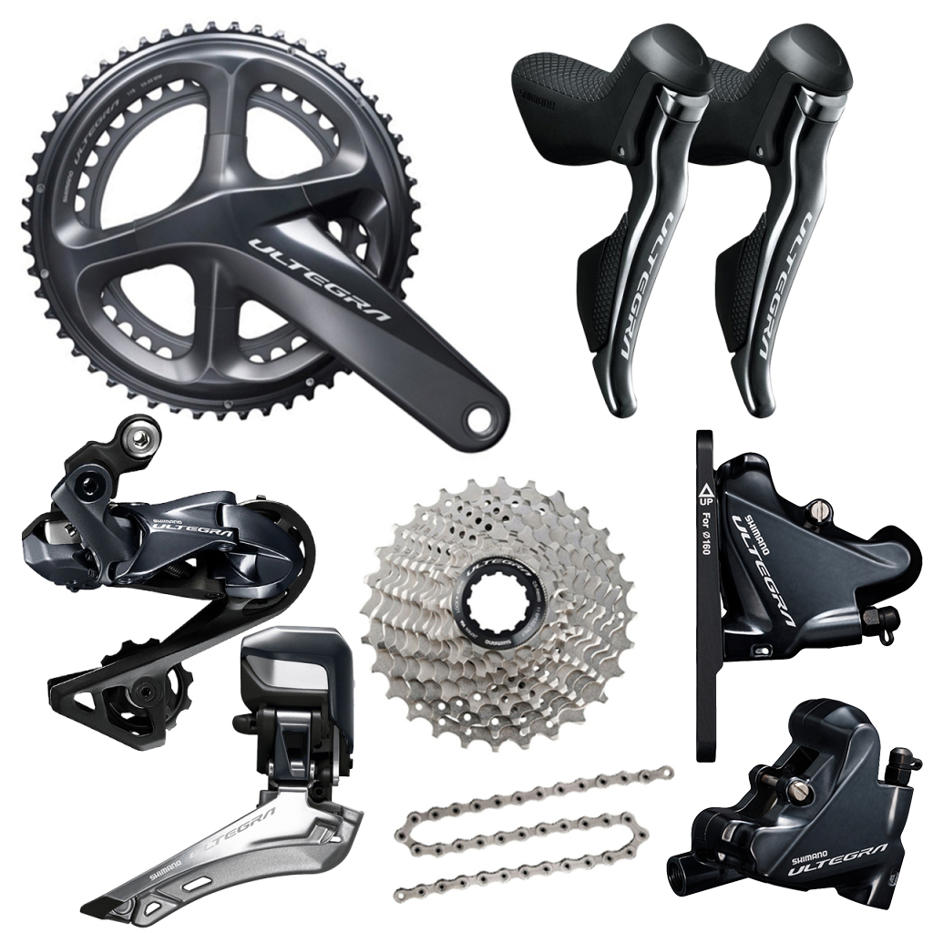 Shimano Ultegra R8070 Di2 Disc Brake 11 Speed Groupset