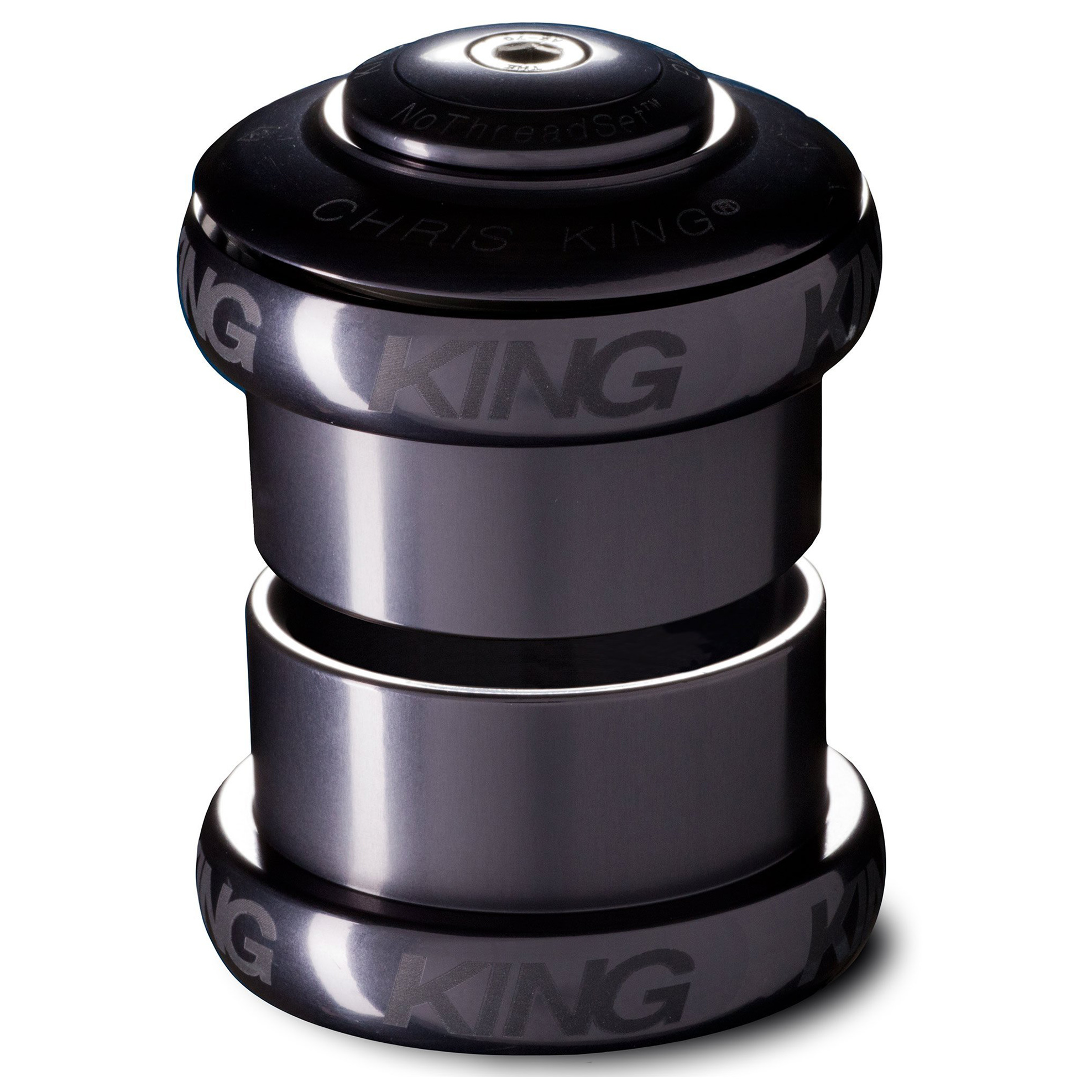 "Chris King Devolution NoThreadset Headset - 1 1/2"" to 1 1/8"""