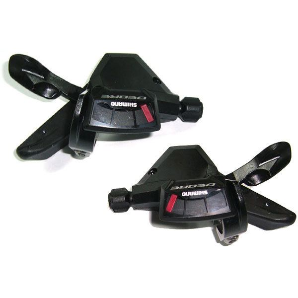 Shimano Deore M590 MTB Gear Levers - 9 Speed