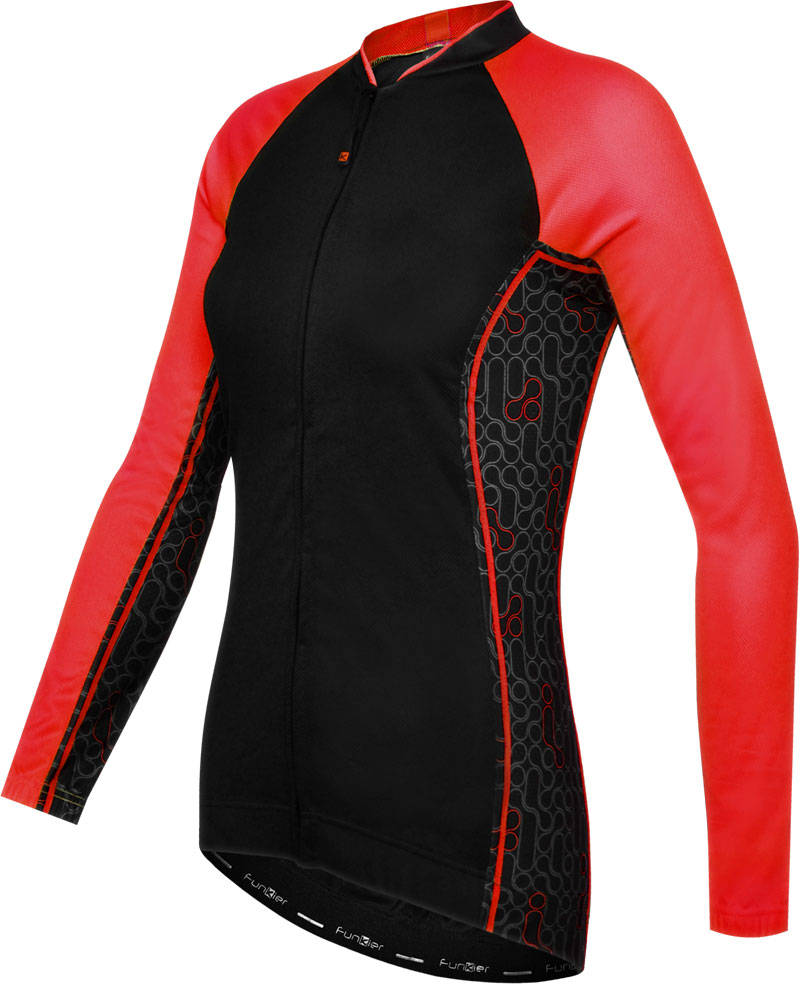 Funkier Atheni Ladies Long Sleeve Cycling Jersey