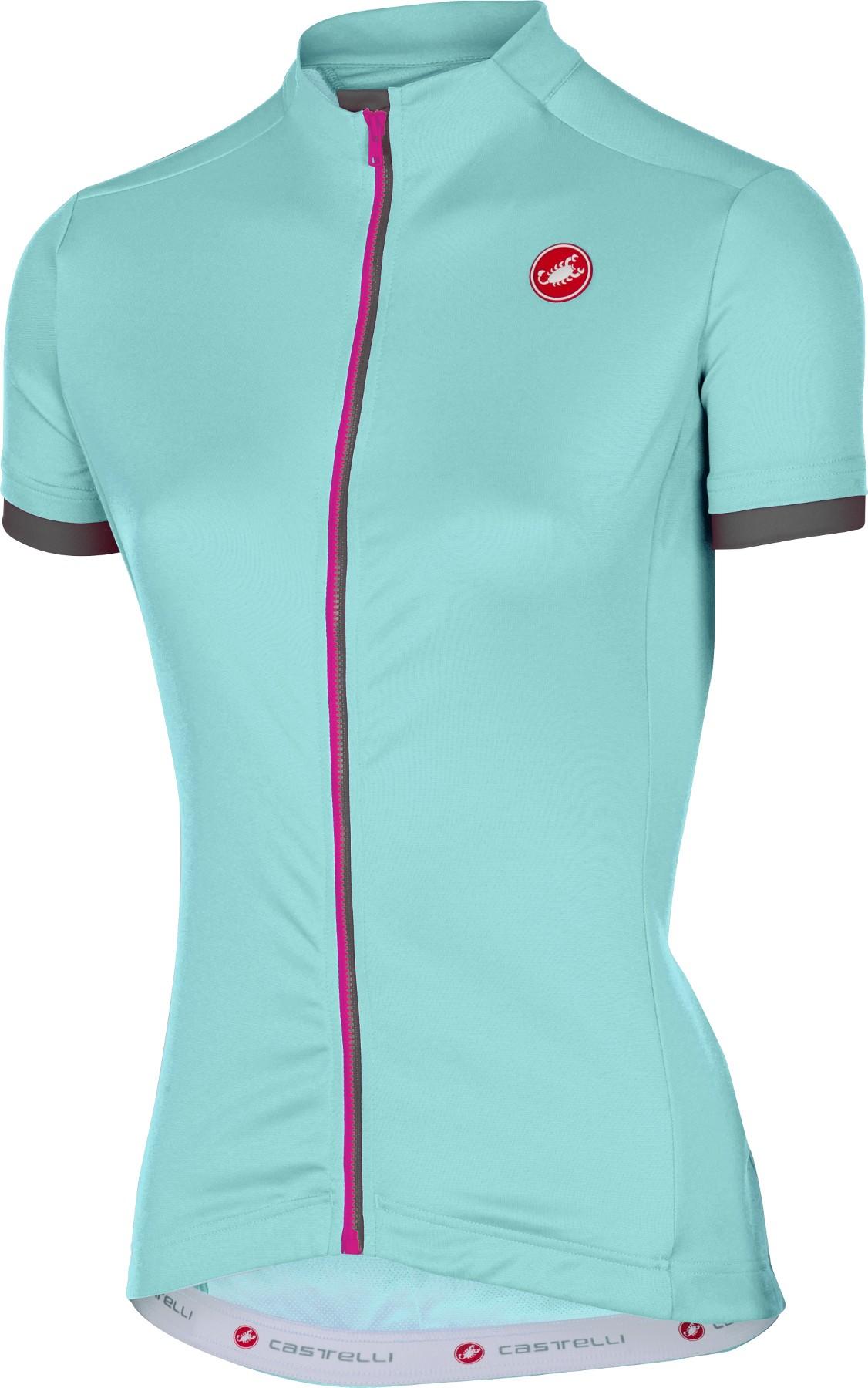 Castelli Anima Womens Short Sleeve Cycling Jersey