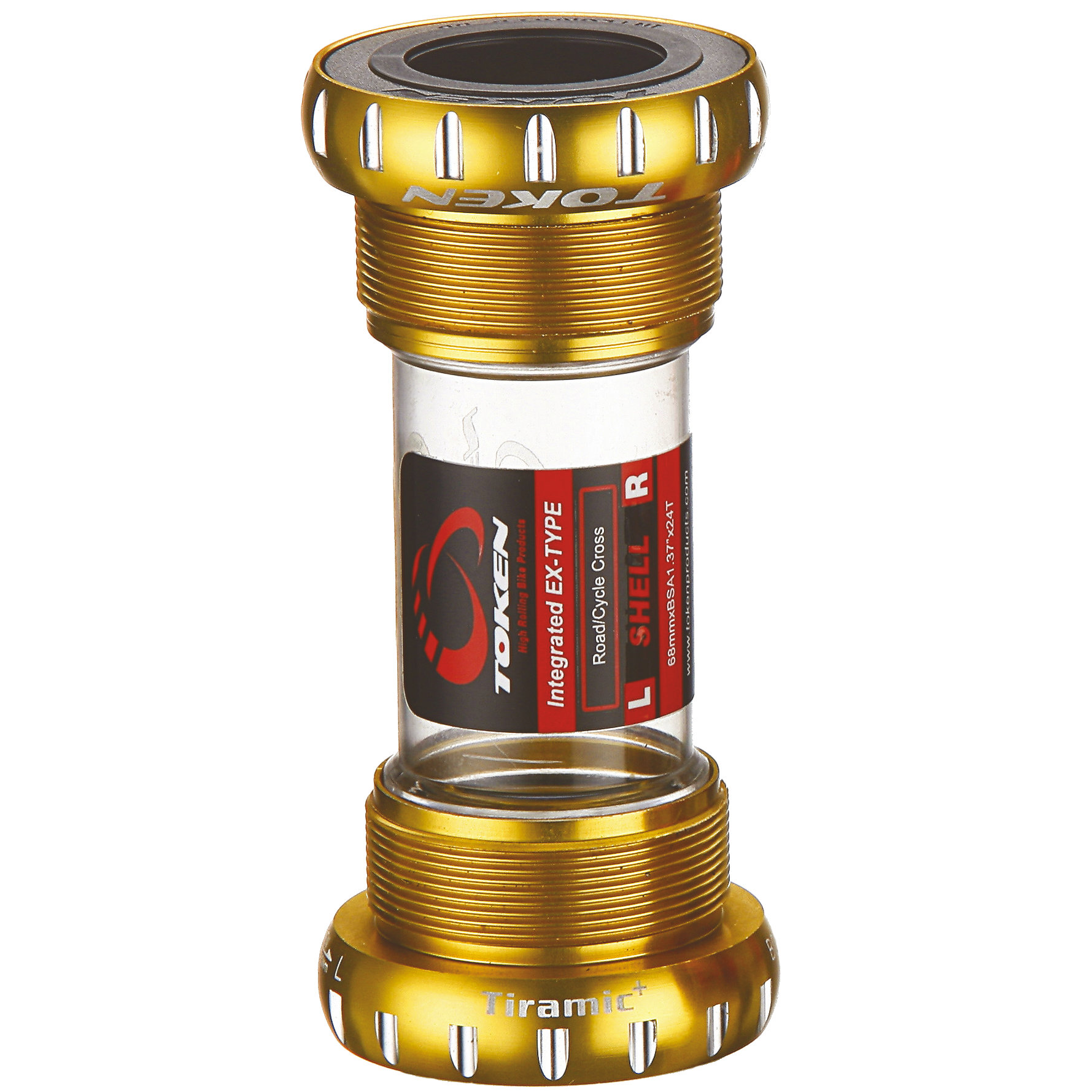 Token TK877 Threaded Tiramic MTB Bottom Bracket