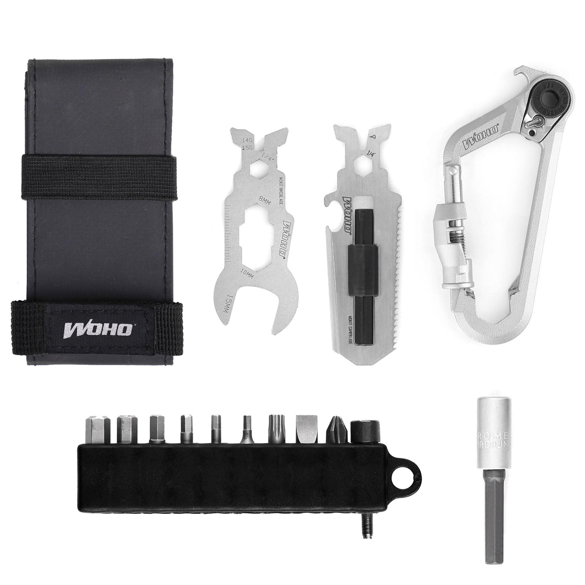 Woho Wokit Bikepacking Carabiner Multi Tool