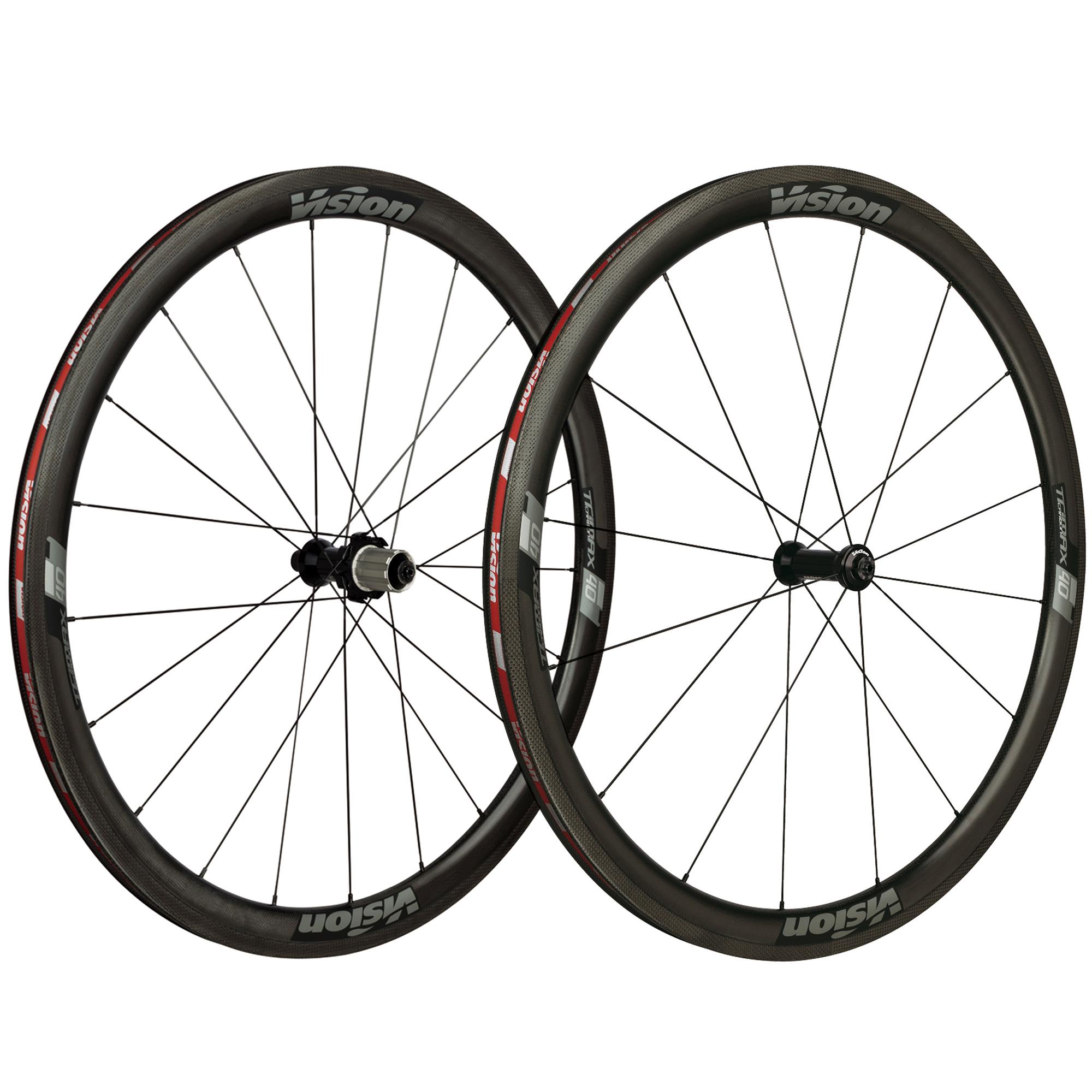 Vision Trimax 40 LTD Carbon Road Wheelset – 700c