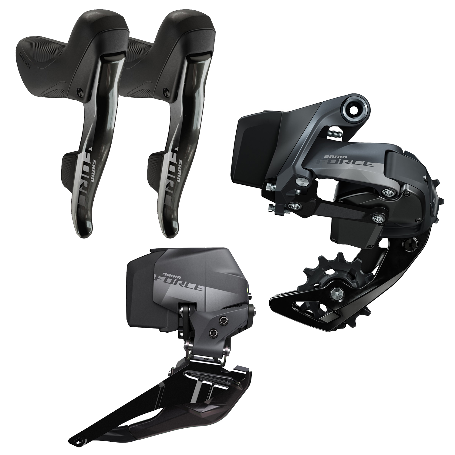 Sram Force eTap AXS 2X D1 Electronic Road Groupset - 12 Speed