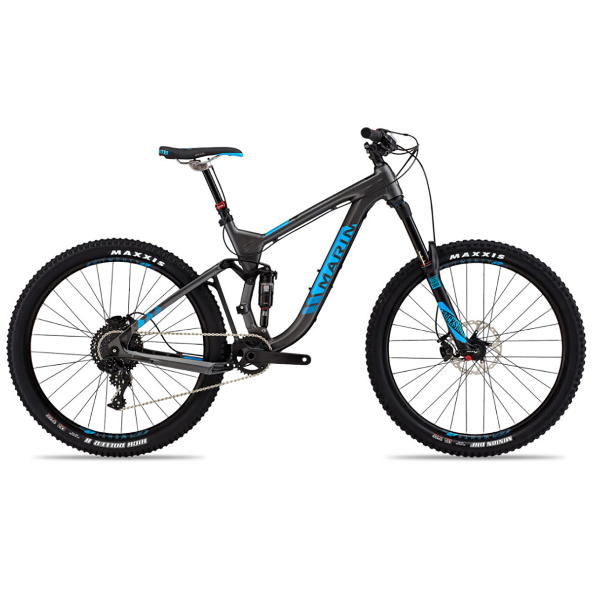 Marin Attack Trail 8 Mountain Bike - 2016