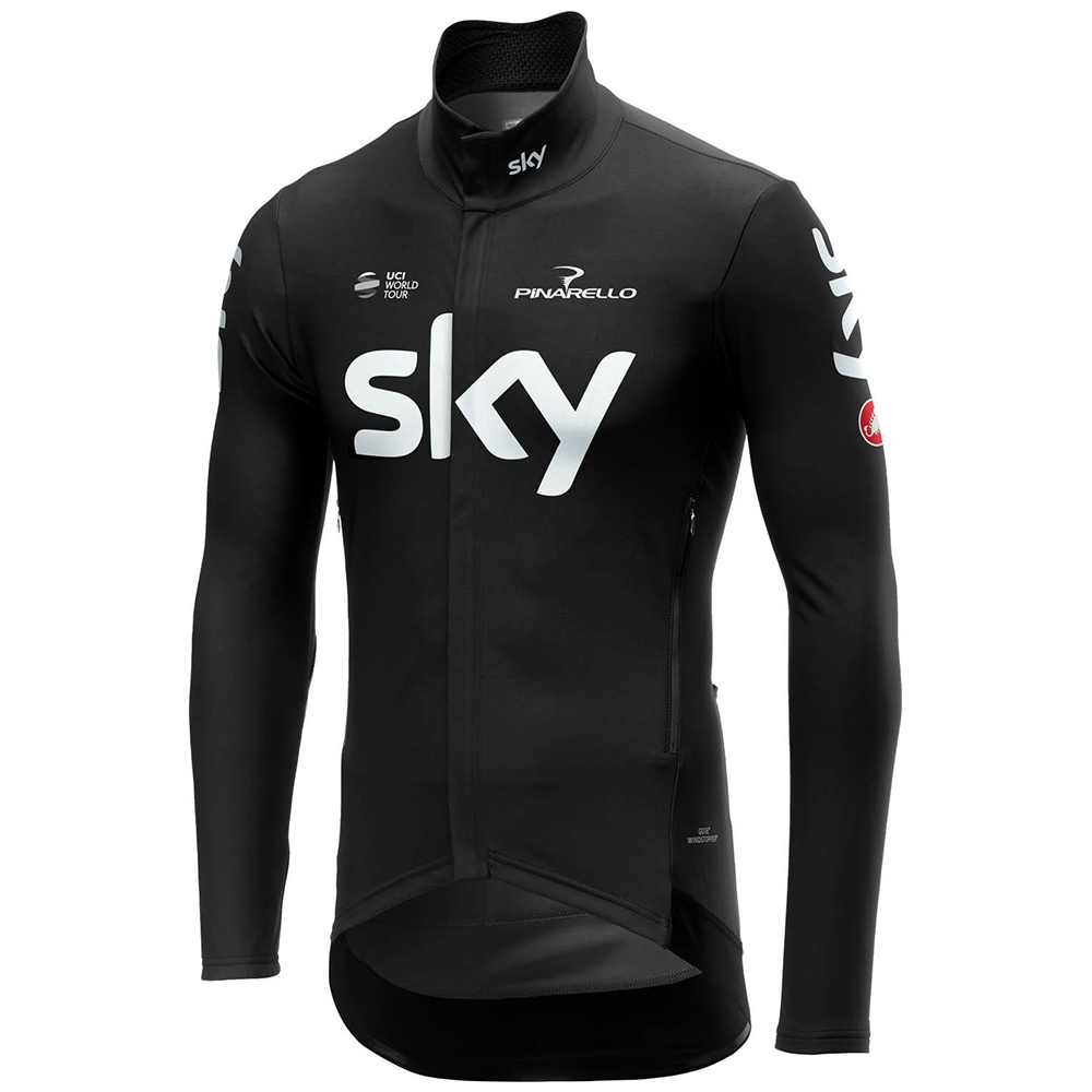 Castelli Team Sky 19 Perfetto Long Sleeve Cycling Jersey