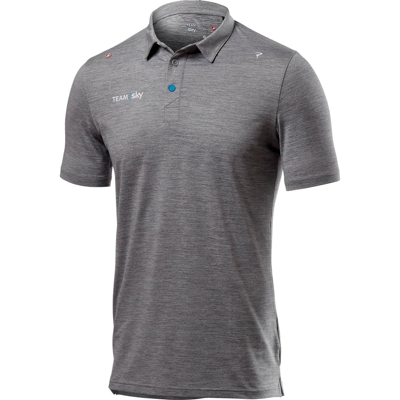 Castelli Team Sky Tech Pro Polo Shirt