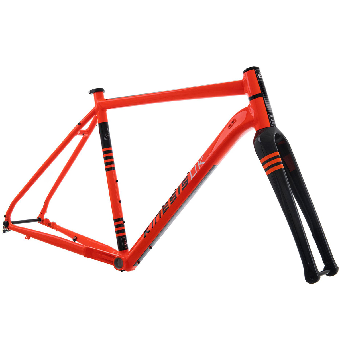 Kinesis Tripster AT Gravel Bike Frameset With Columbus Forks
