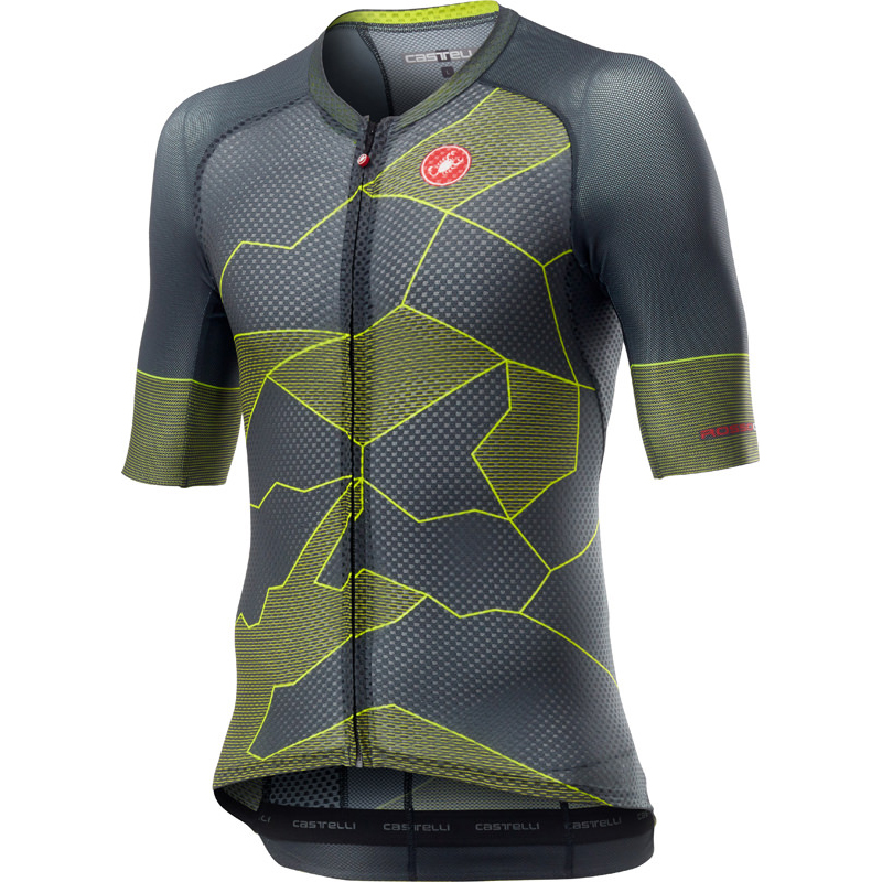 Castelli Short Sleeve Cycling Jersey Medium Mens Stages Cycling Power