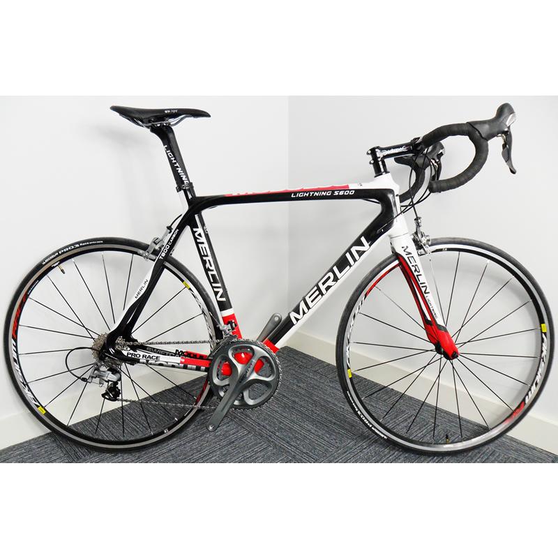 Cycling Merlin S600 Carbon Road Bike - 58cm