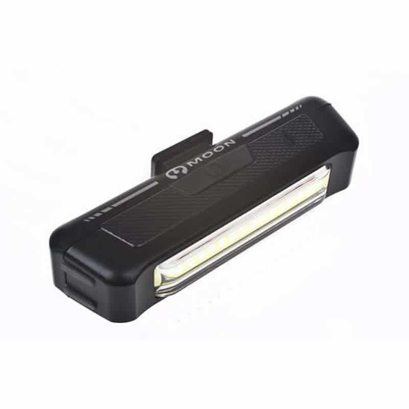 Moon Comet Rechargeable Front Bike Light