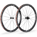 Vision Metron 40 SL Carbon Clincher Road Wheelset - Black / Shimano / Pair / 11 Speed / Clincher / 700c