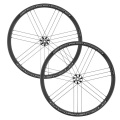 Campagnolo Scirocco C17 Disc Clincher Road Wheelset - 700c - Black / Campagnolo / Quick Release / Centerlock / Pair / 10-11 Spee