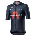 Castelli Ineos Grenadiers Aero Race 6.1 Short Sleeve Cycling Jersey - Savile Blue / Medium