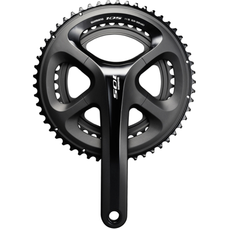 Shimano 105 FC-5800 Road Bike Chainset - Black