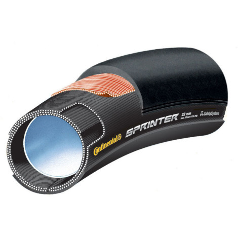 Continental Sprinter Tubular Road Cycling Tyre