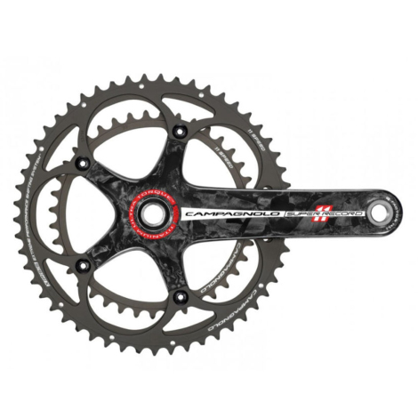Campagnolo Super Record TI Road Chainset - 11 Speed