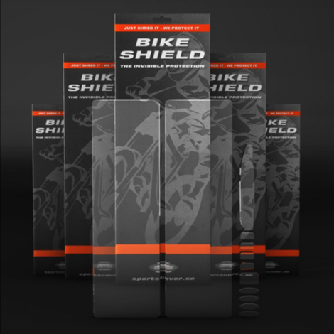 Bike Shield Full Pack Oversize Bike Protection Kit