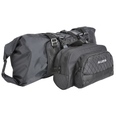 Lotus Tough Series Handlebar Bag With Dry Bag