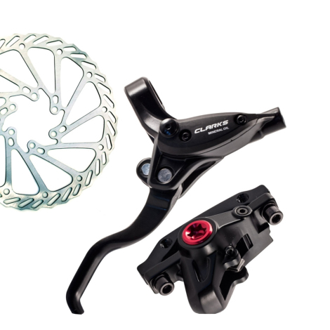 Clarks M2 Hydraulic Front & Rear Disc Brake SET 160mm