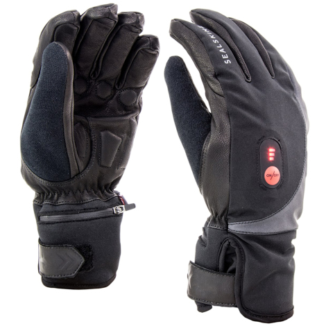 Sealskinz Cold Weather USB Heated Cycling Gloves