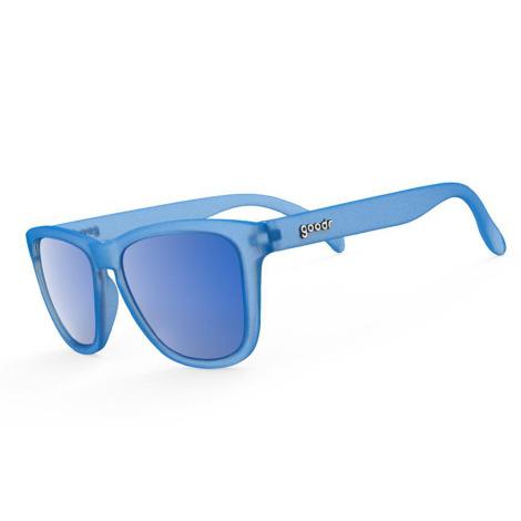 Image of Goodr OG's Reginald The Unicorn Sunglasses - Blue w- Blue Lens, Blue w- Blue Lens