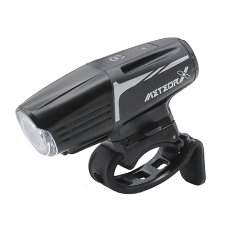 Moon Meteor Auto X Pro Rechargeable Front Bike Light - 2019