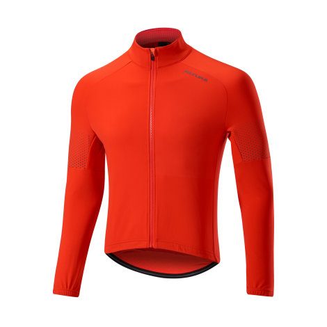 Altura Sportive Team Long Sleeve Cycling Jersey Red