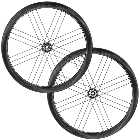 Campagnolo Bora WTO 45 Dark Carbon Disc Clincher Road Wheelset