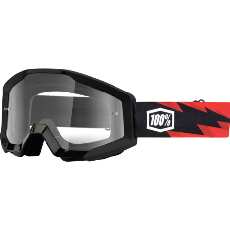 100% Strata Goggles - Clear Lens