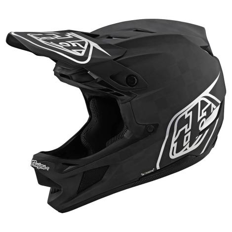 Troy Lee Designs D4 Carbon Stealth Full Face MTB Helmet - 2020 - Stealth Black / Medium / 57cm / 58cm