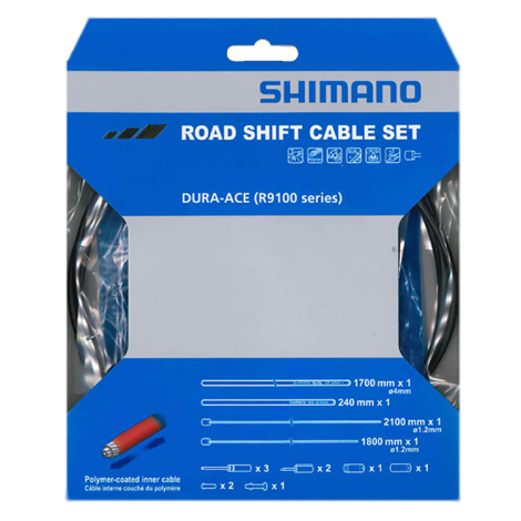 Shimano Dura Ace R9100 Road Gear Cable Set - Polymer