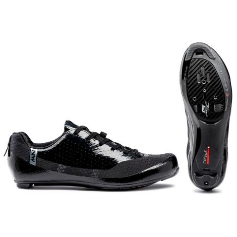 Image of Northwave Mistral Road Shoes - 2021 - Black / EU45
