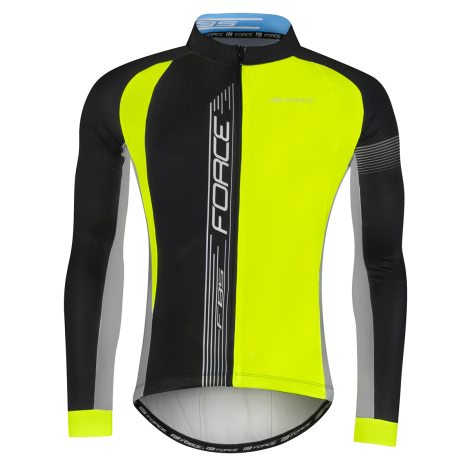 Force F85 Long Sleeve Cycling Jersey