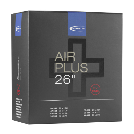 Schwalbe Air Plus SV13AP Inner Tube - 26""