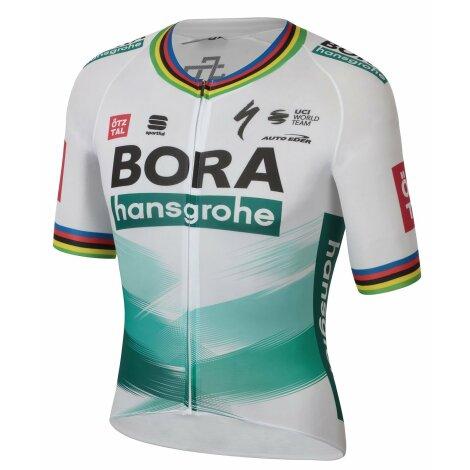 Sportful Bora Hansgrohe Bomber Short Sleeve Cycling Jersey - Ex World Champion TDF / XLarge