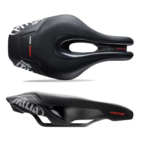 Selle Italia Iron Evo Kit Carbonio Superflow TT Saddle